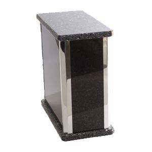 urne funéraire modulable granite noir