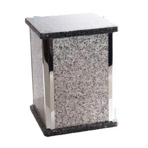urne funéraire granite blanc