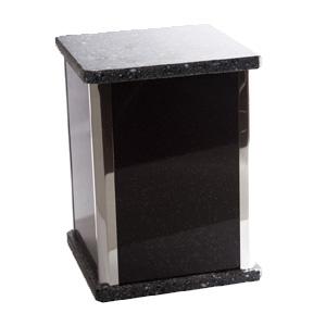 urne funéraire granite noir