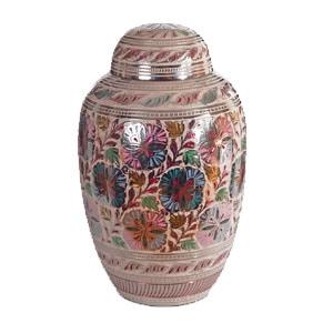 urne funéraire laiton varié
