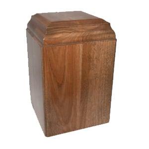 urne funéraire merisier naturel